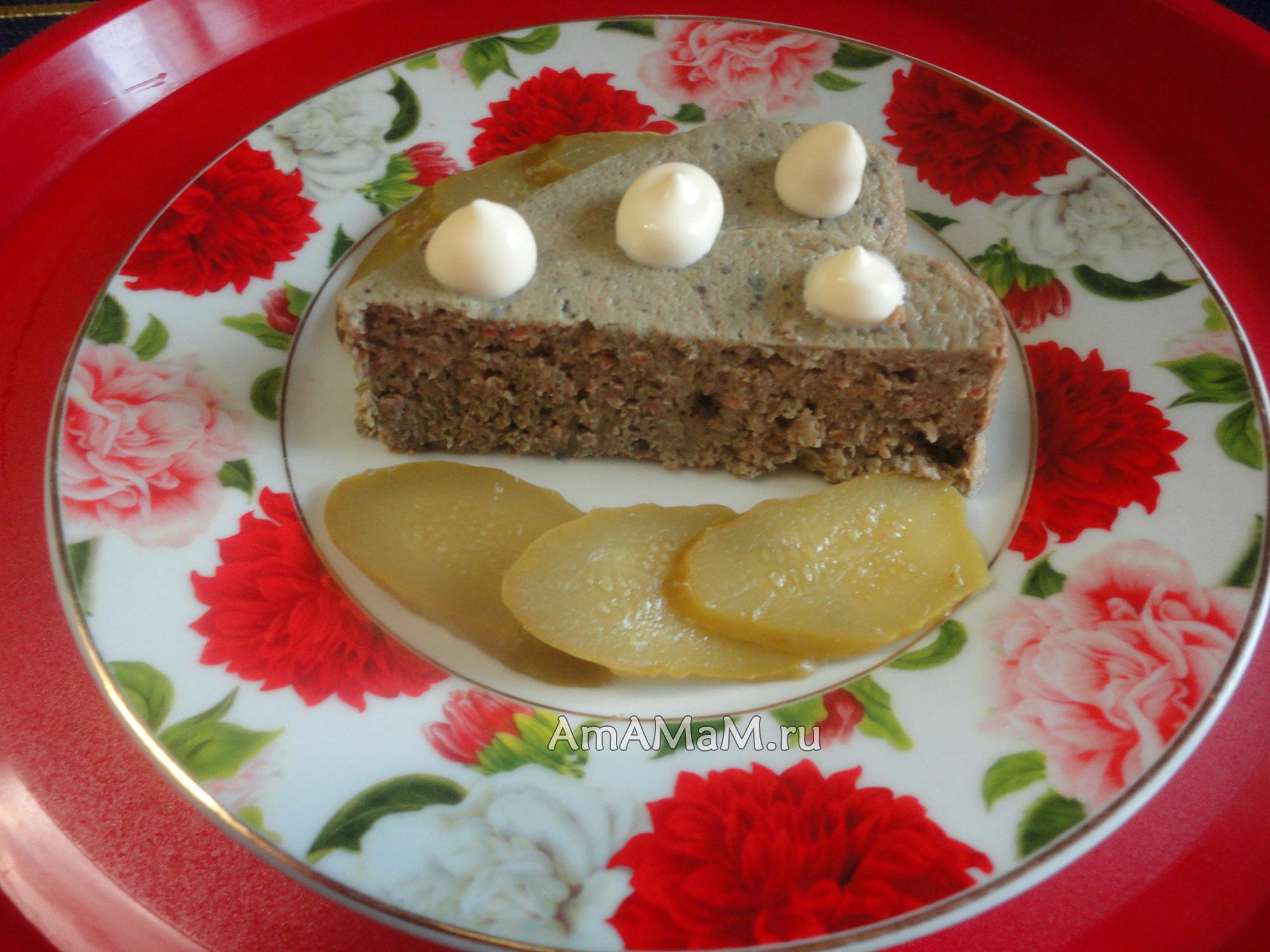 Суфле из печени для детей в духовке рецепт