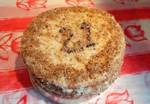 Простые домашние торта - рецепт лимонного Медовика