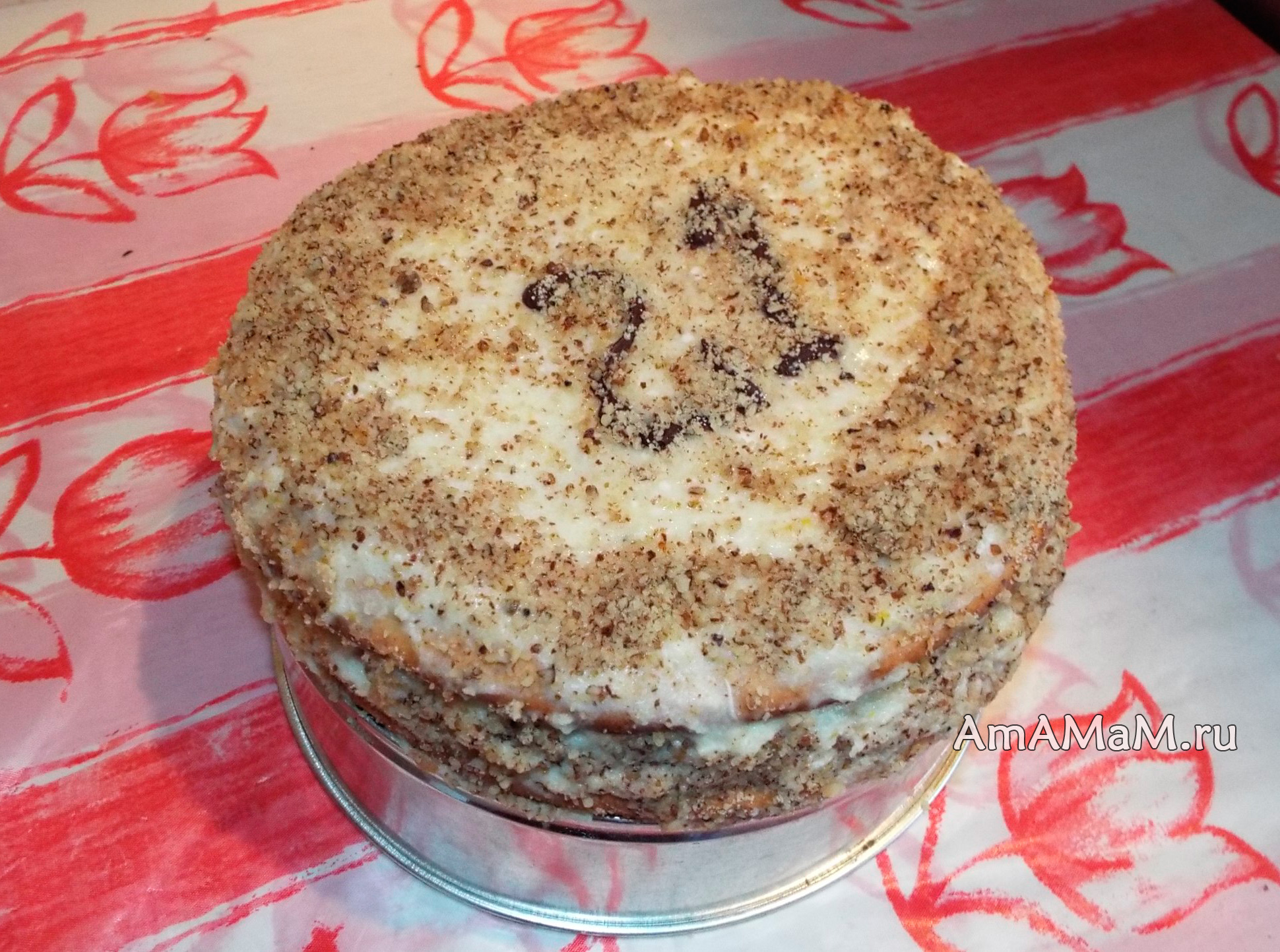Простой рецепт торта для дня рождения