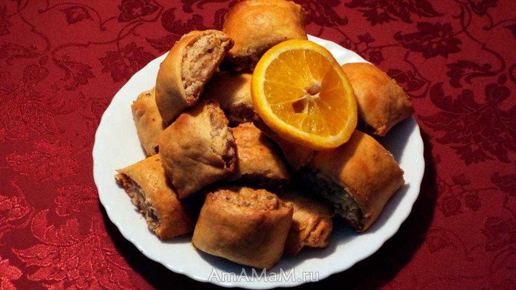 Приготовление армянскоих назуков - рецепт печенья