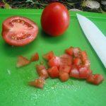 Помидор кубиками - фото и рецепт салата
