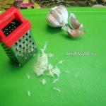 Малюсенькая терка для чеснока - фото