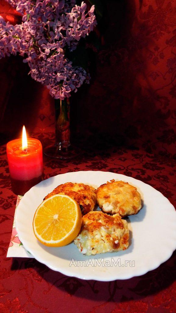 Рецепт сырников с изюмом и добавлением шафрана