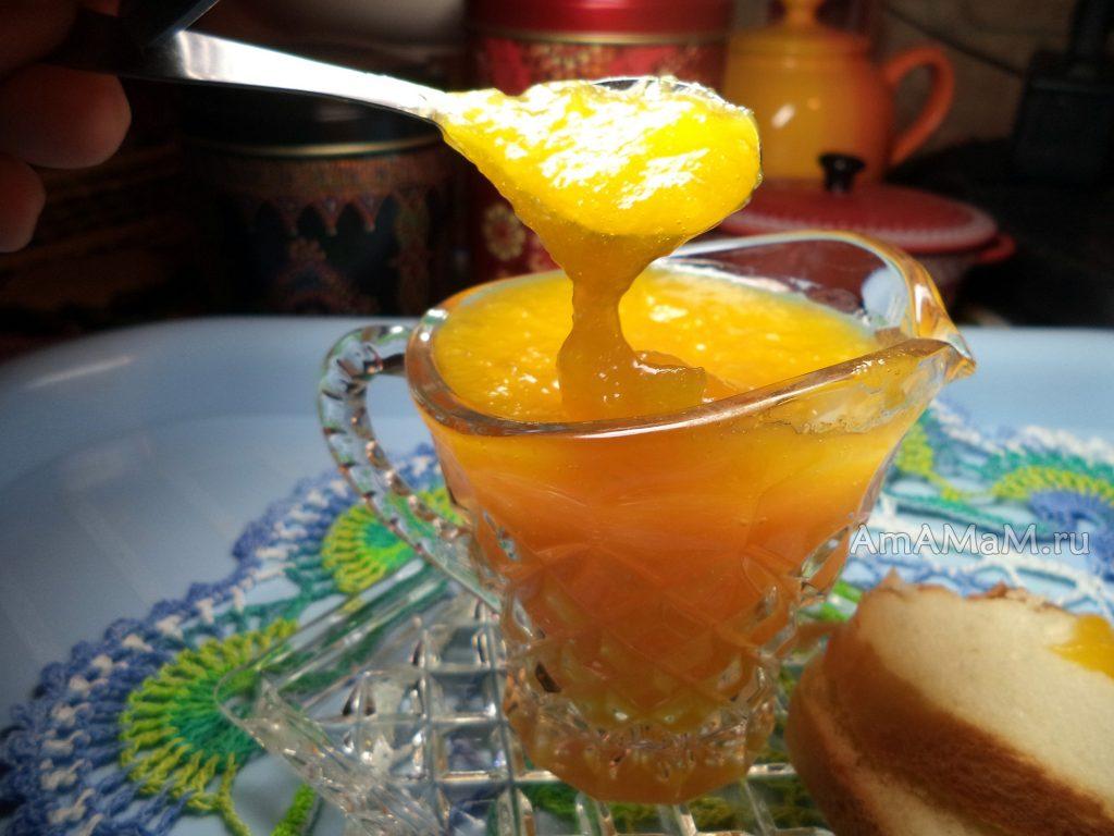 Джем из апельсинов, приготовленный своими руками