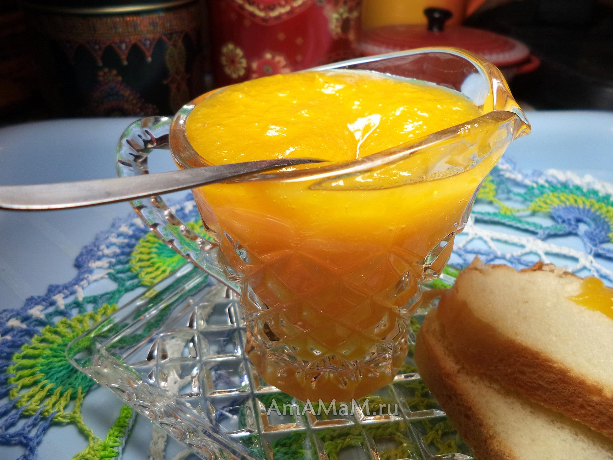 Греческий джем из апельсинов - рецепт с фото
