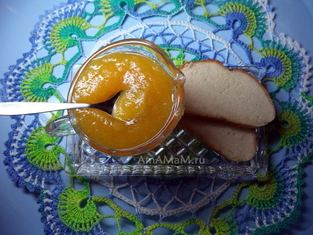 Варенье из апельсинов - фото и рецепт