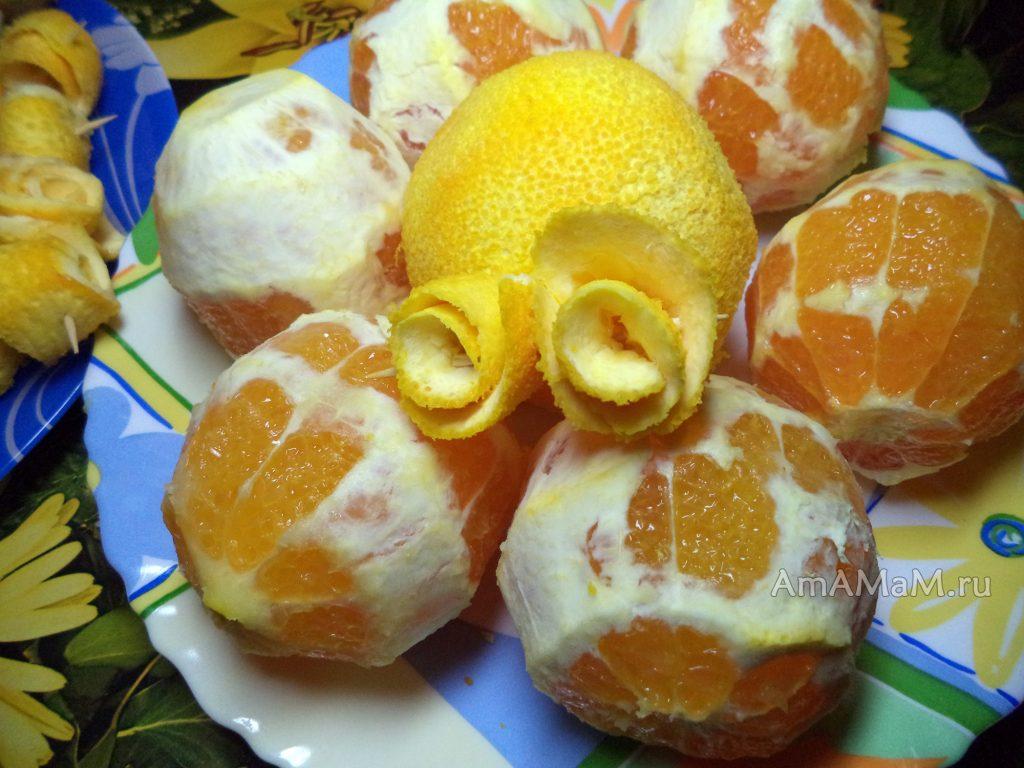 Как делают цукаты из апельсинов - фото и рецепты