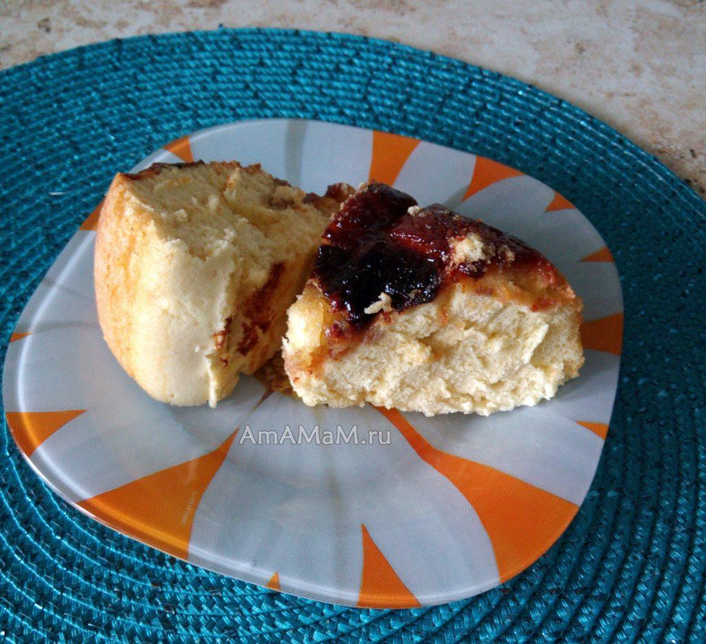 Пирог с бананами в мультиварке - рецепт и фото