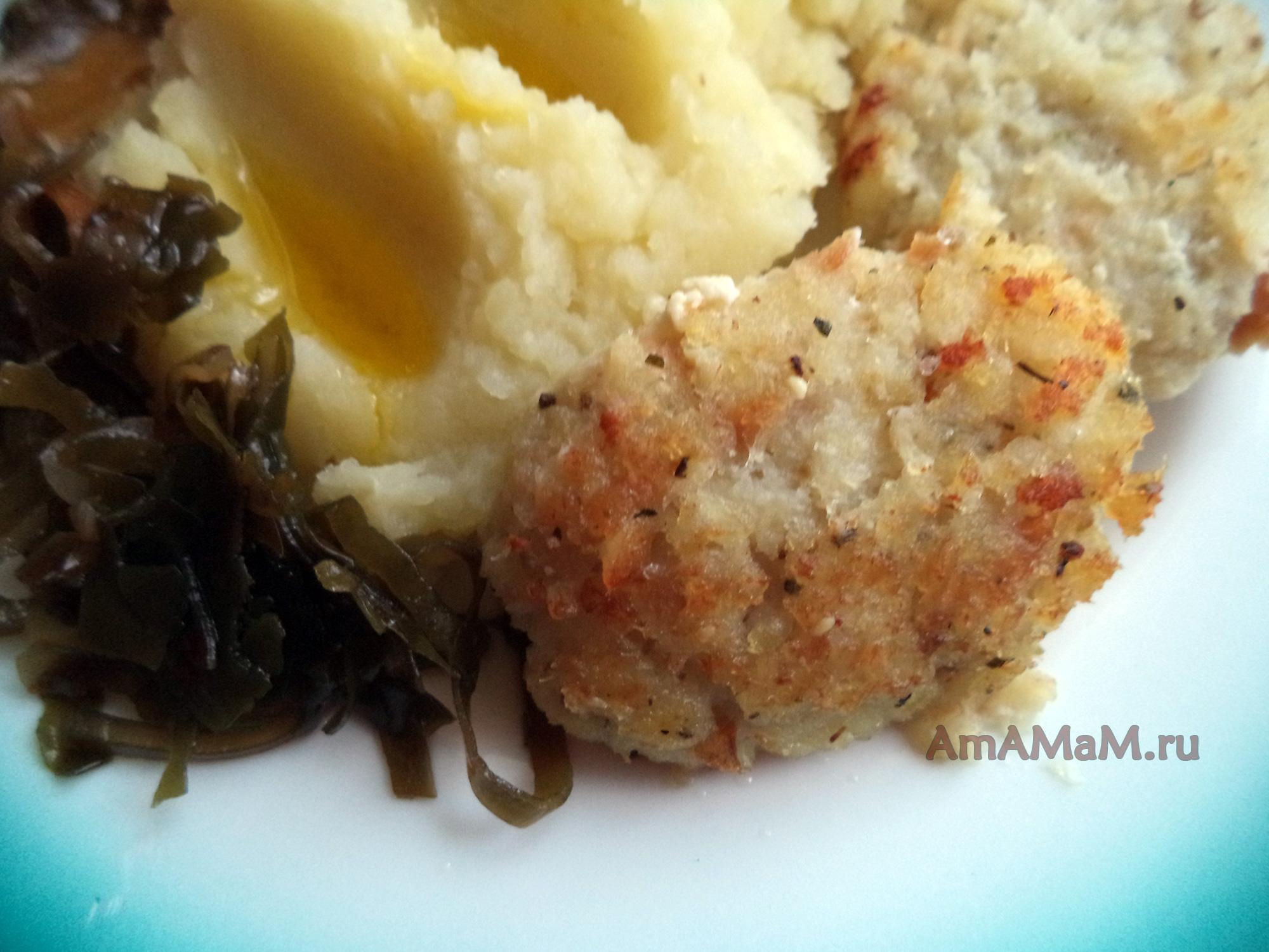 рыбные котлеты рецепт с фото с капустой