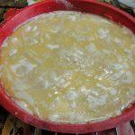 Насыпной пирог с яблоками и маслом - рецепт и фото