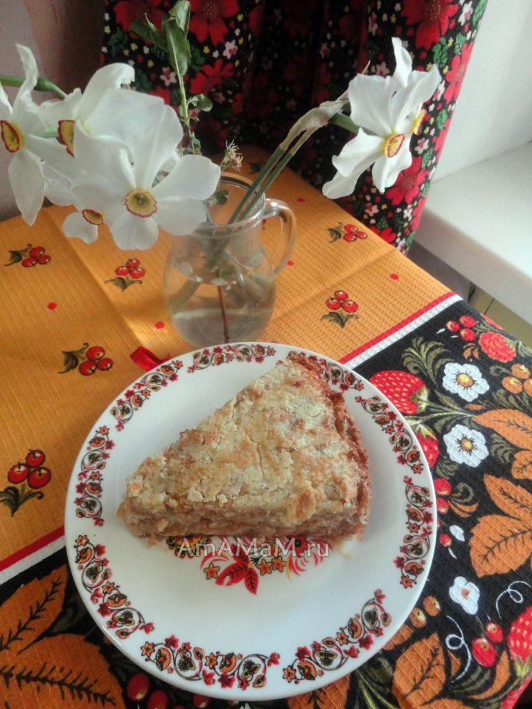 Приготовление пирога без яиц - рецепты и фото