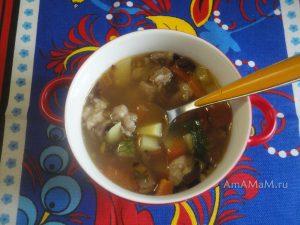 Суп из фасоли и баранины - просто и вкусон