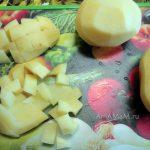 Как нарезать картошку в суп - фото