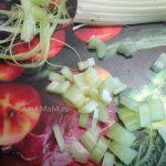 Как очистить и нарезать сельдерей