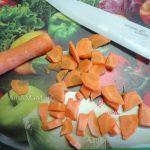Нарезка моркови для поджарки