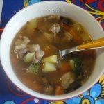 Как готовить суп из фасоли с бараниной - фото и рецепт