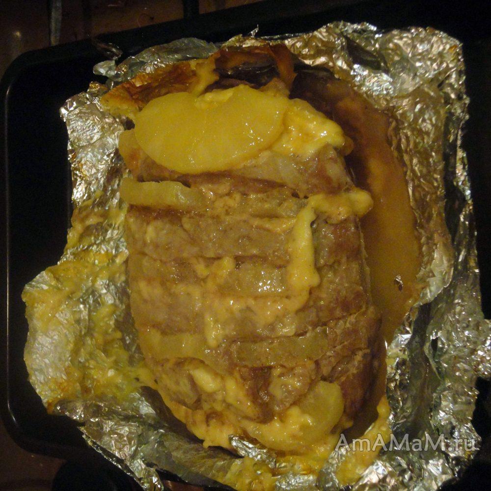 рецепт свинины отбивные в духовке в фольге рецепт с фото