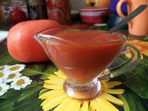 Рецепты томатной пасты с яблоками. слдаким перцем, луком, сливами - заготовки на зиму