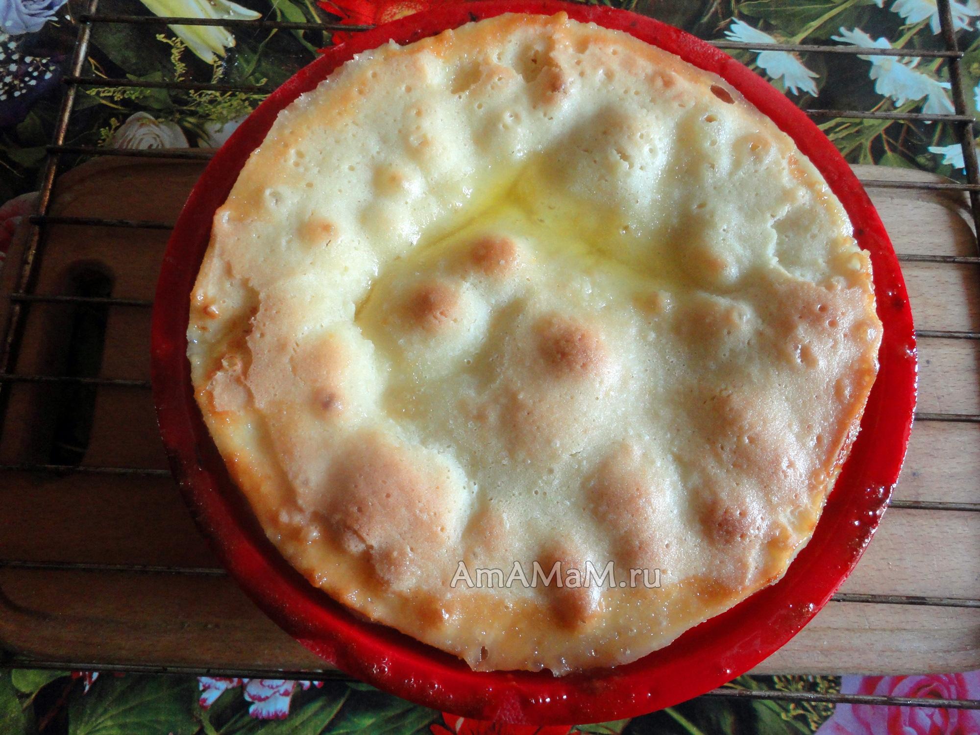 Банановый пирог с бананами в духовке рецепт с фото пошагово