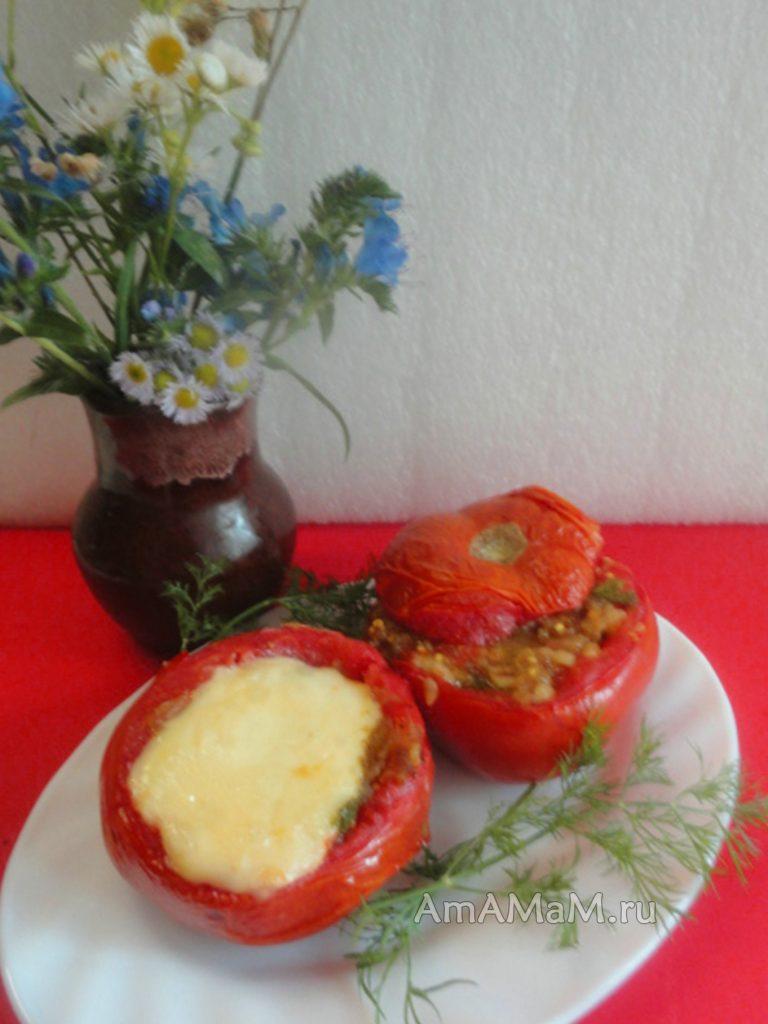 Рецепт приготовления фаршированных овощей с фото