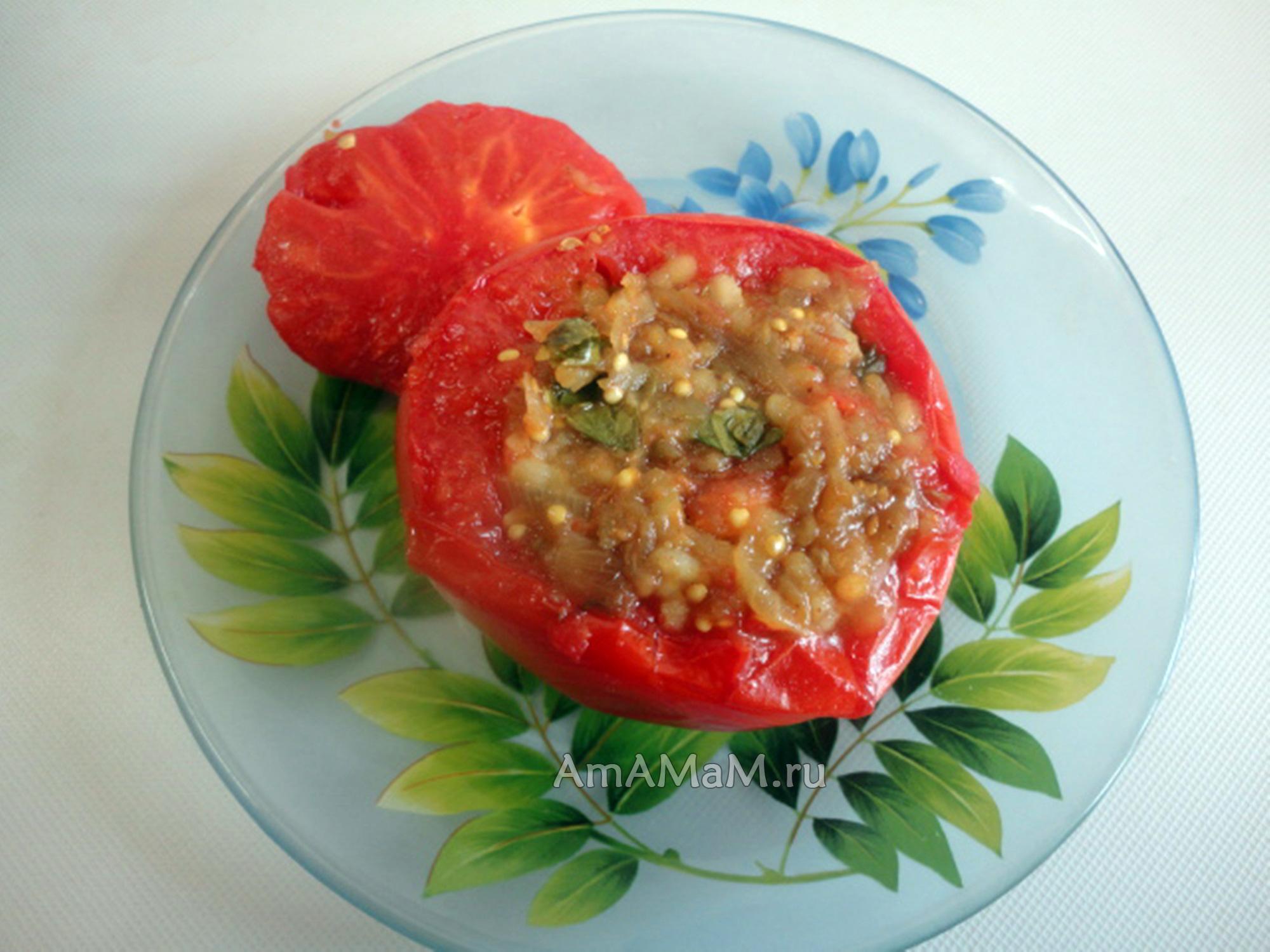 Приготволение блюд из фаршированных овощей - рецепты
