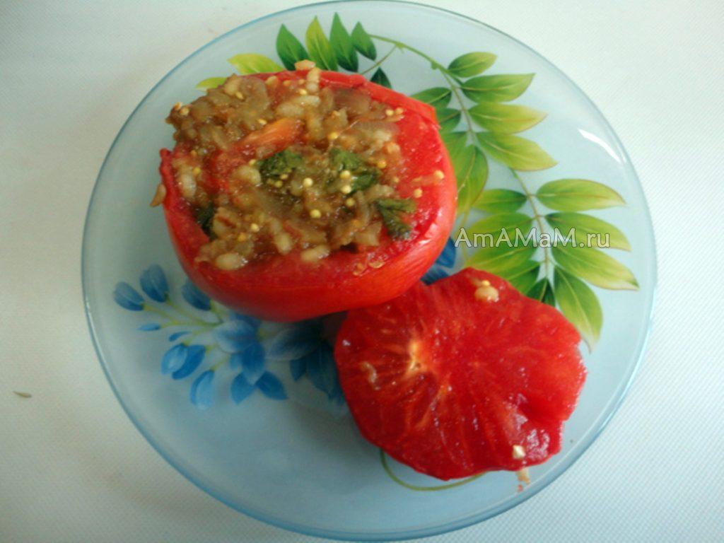 Рецепт фарширования помидоров и сладкого перца