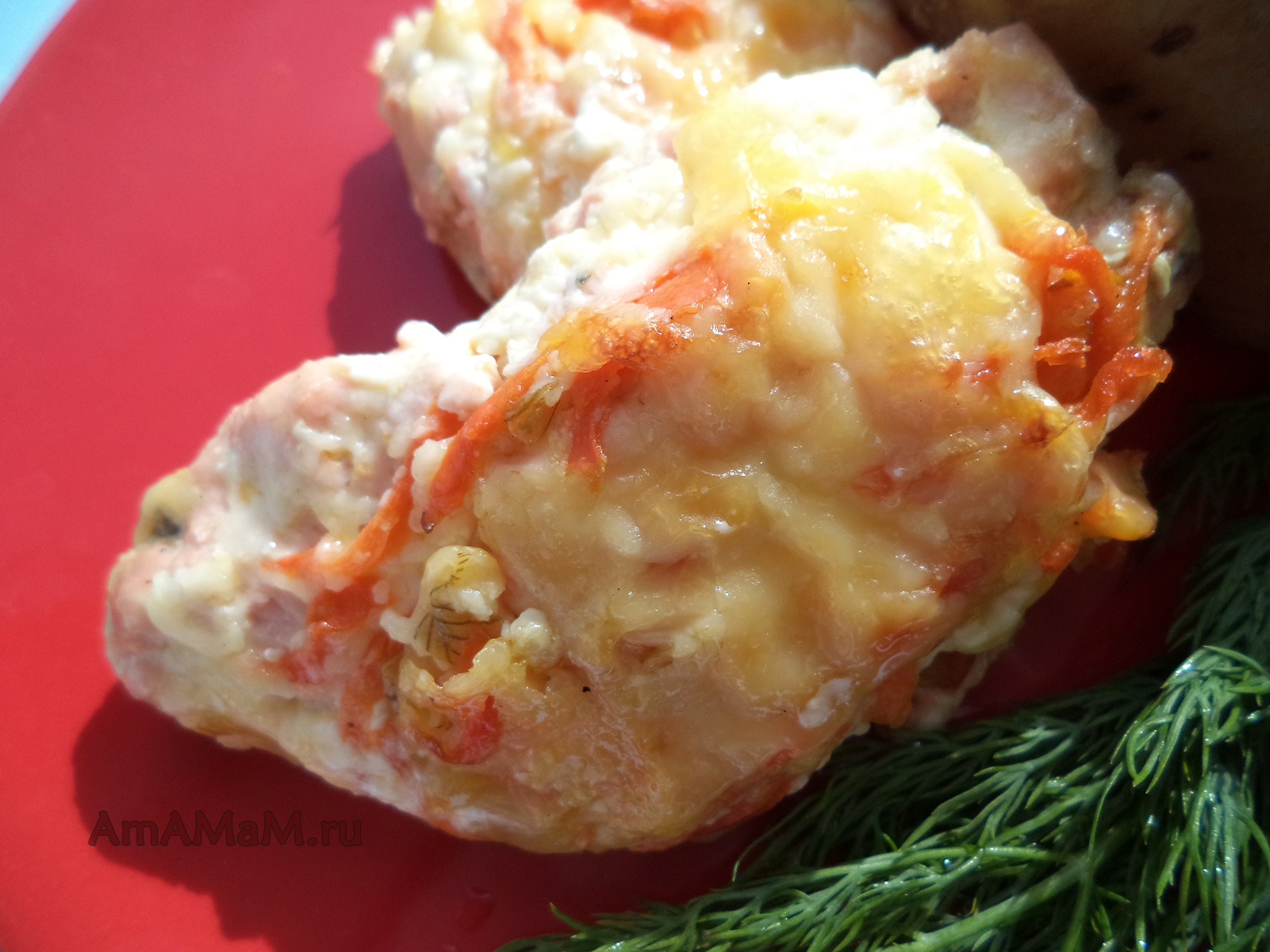 горбуша в духовке рецепты с морковкой
