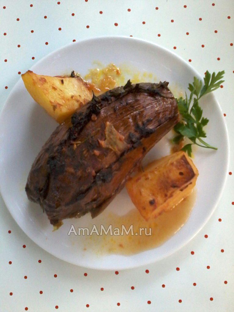 Фото и рецепт приготовления Имам Баялды