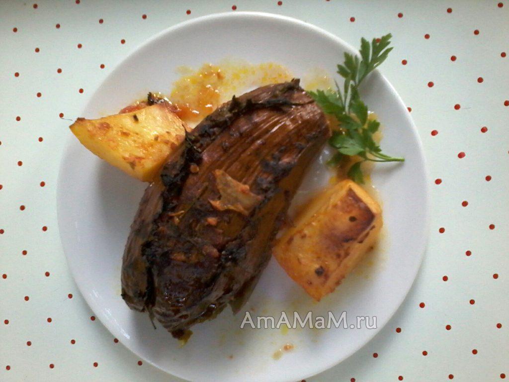 картофель тушеный с овощами рецепт с фото