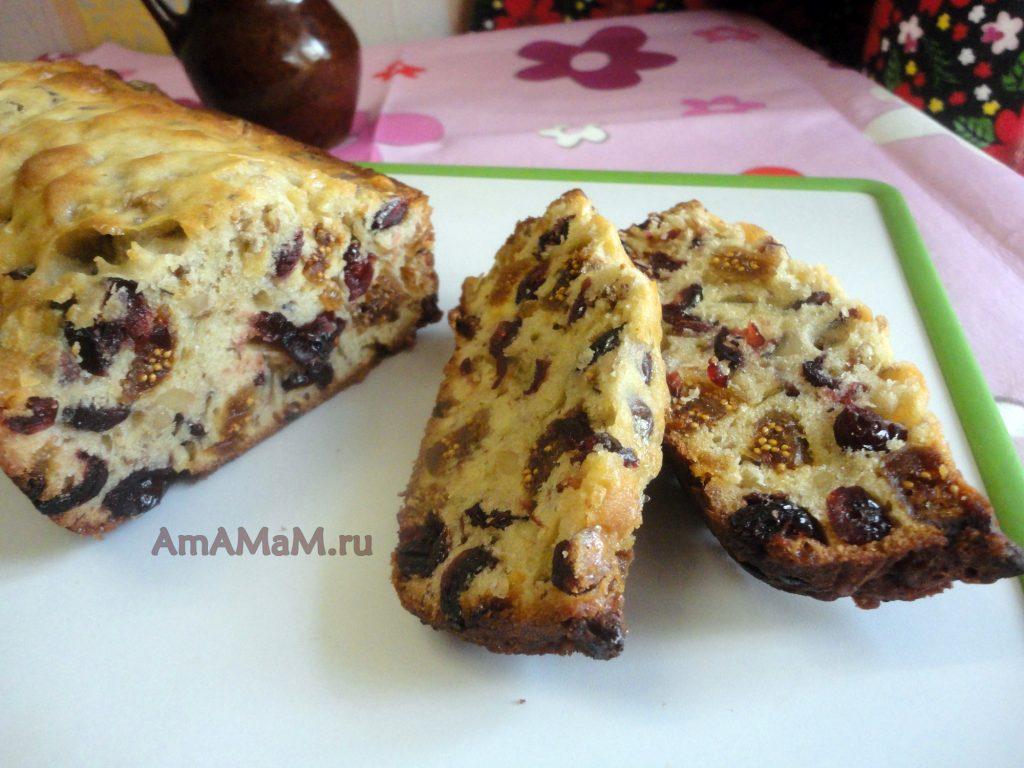 Рецепт вкусного кекса из сухофруктов