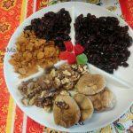 Состав сухофруктов для рецепта кекса из сухофрутков