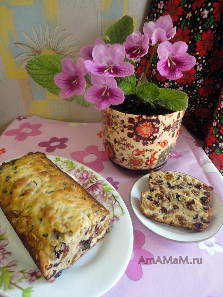 Рецепты домашних кексов - кекс из сухофруктов
