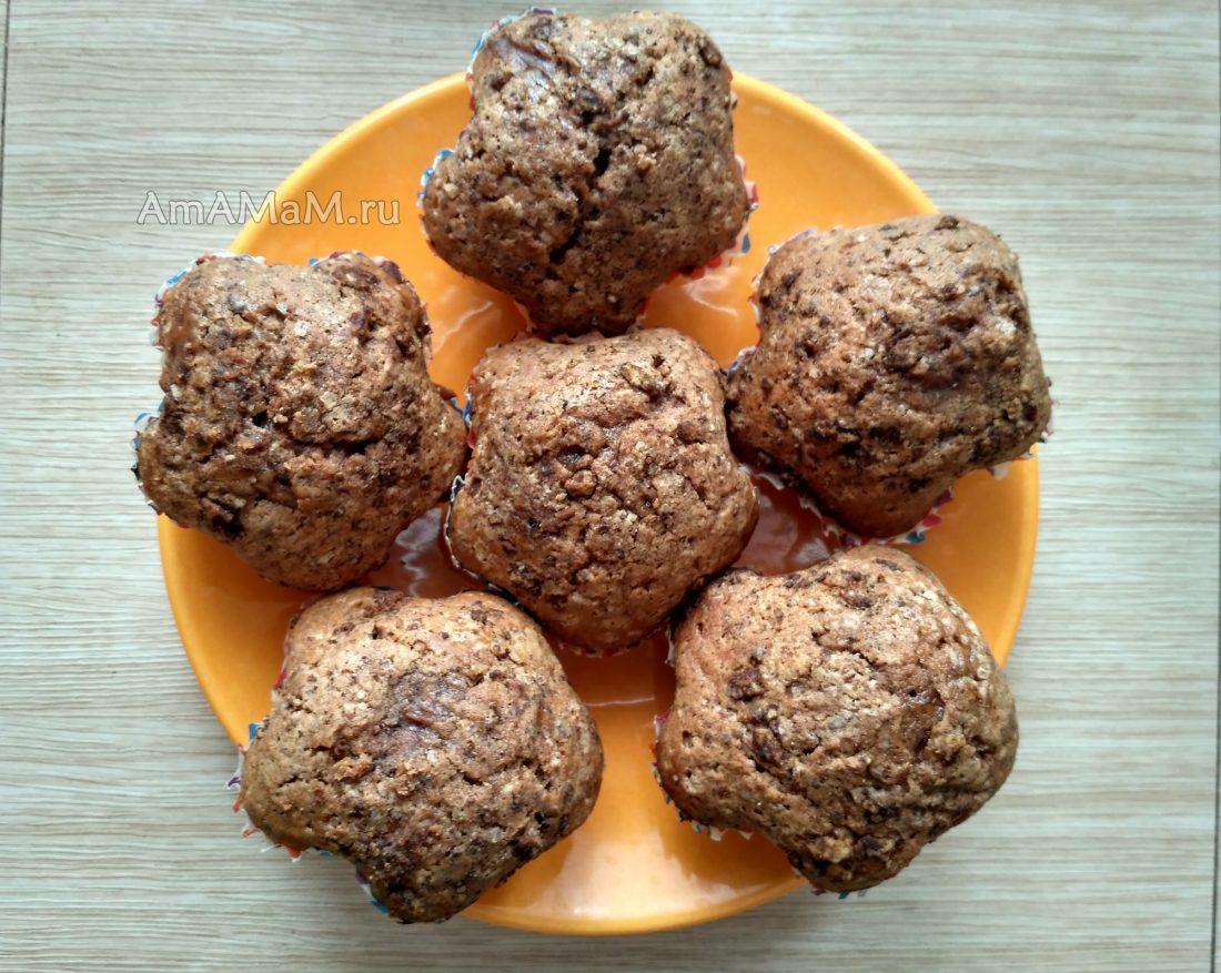 Шоколадные кексы рецепты