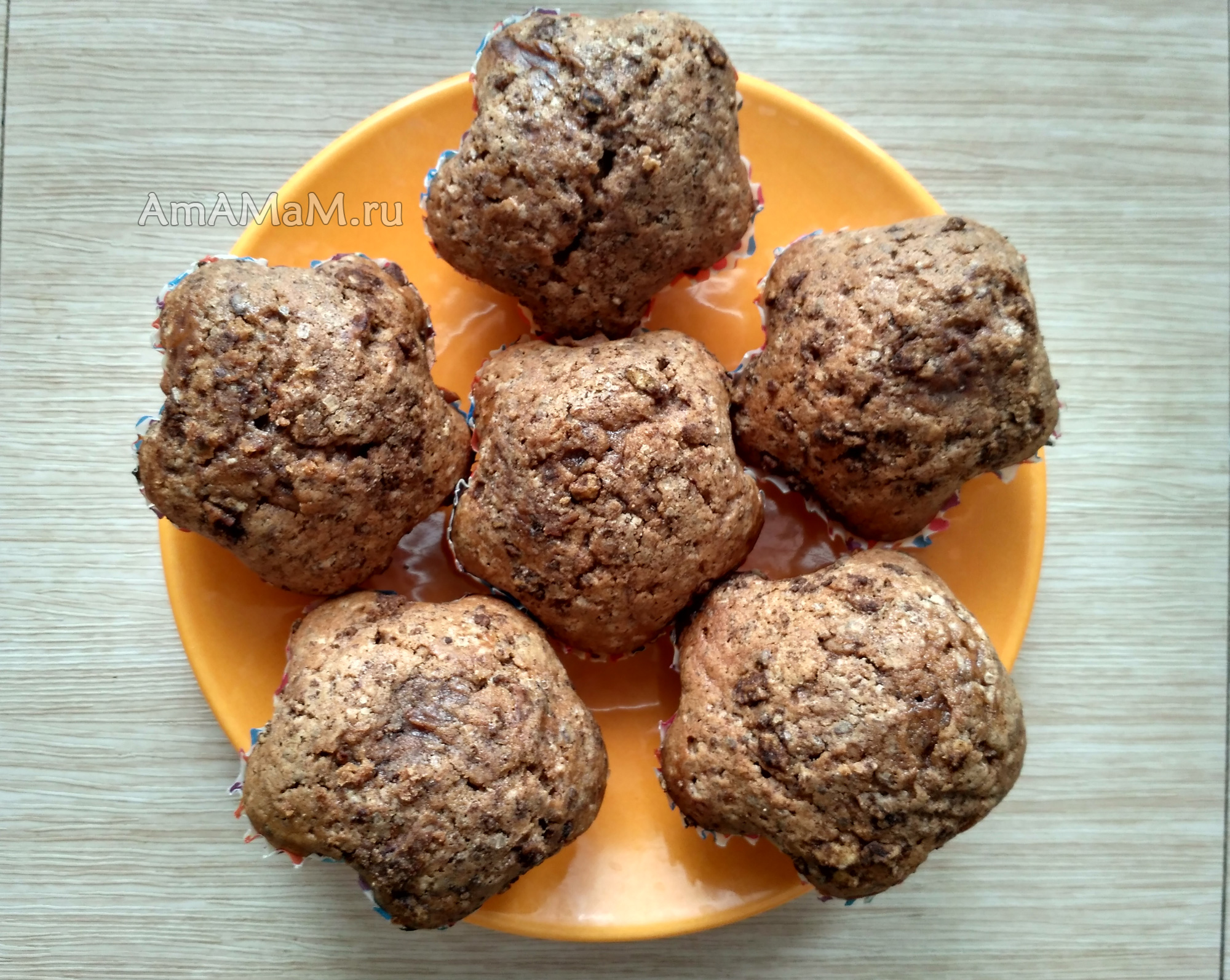 Рецепты кексов в силиконовых формочках - шоколадные