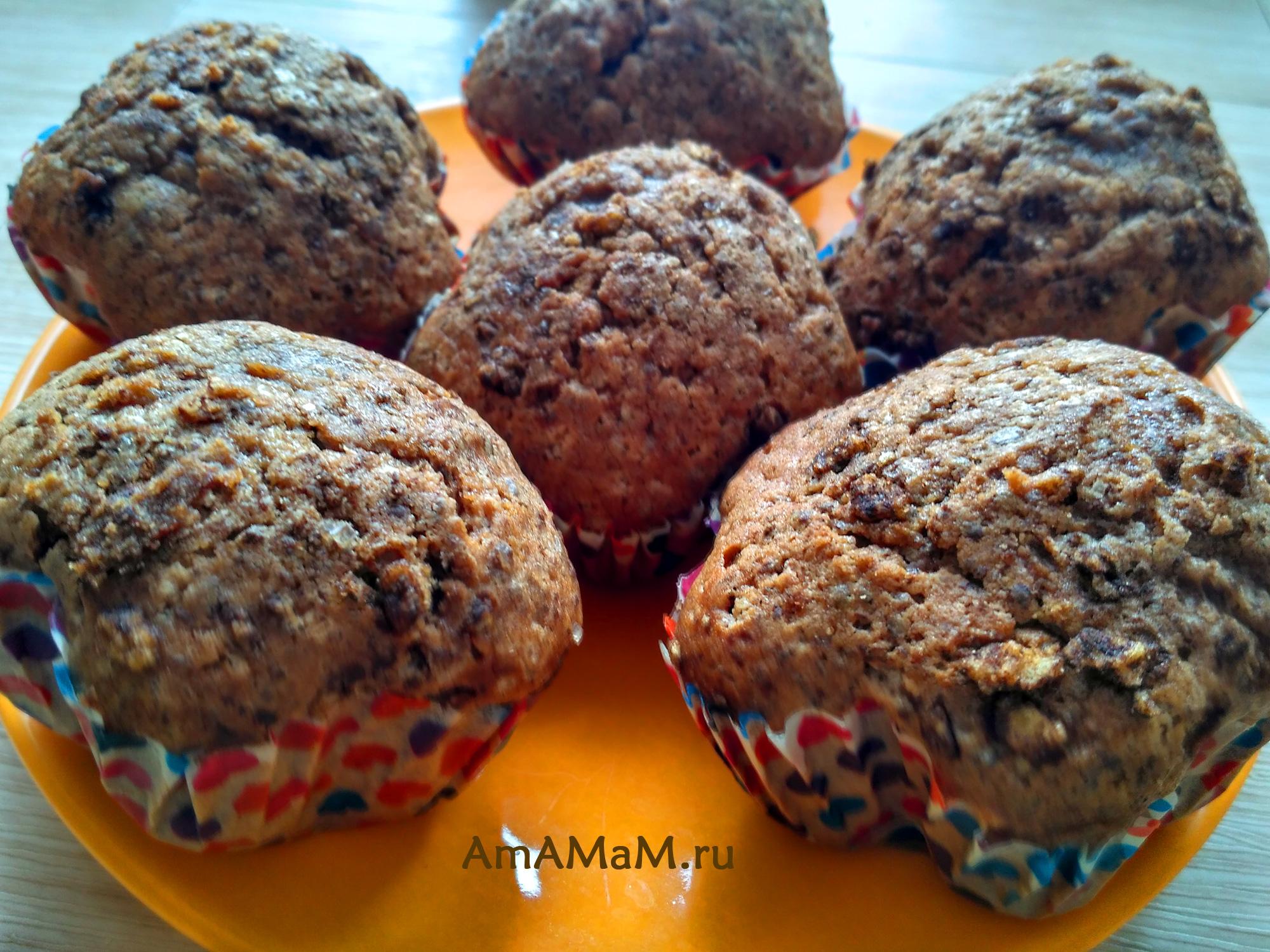 Фото и рецепт домашних шоколадных кексов