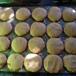 Кофейное печенье на растительном масле на противне
