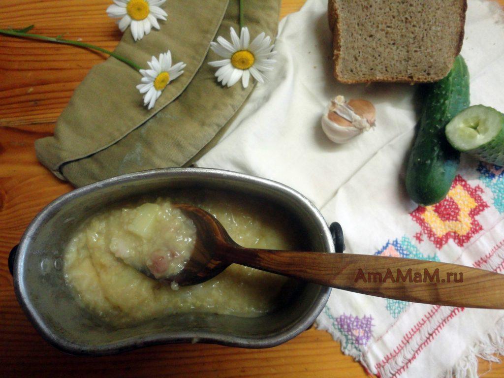 Рецепт кулеша на полевой кухне - рецепт с фото в котелке