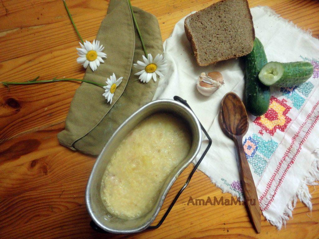 Рецепты - полевая кухня