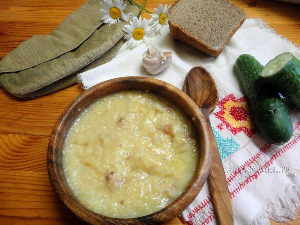Что такое кулеш и рецепт приготовления на полевой кухне