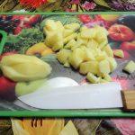 Нарезка картофеля для кулеша - фото и рецепт