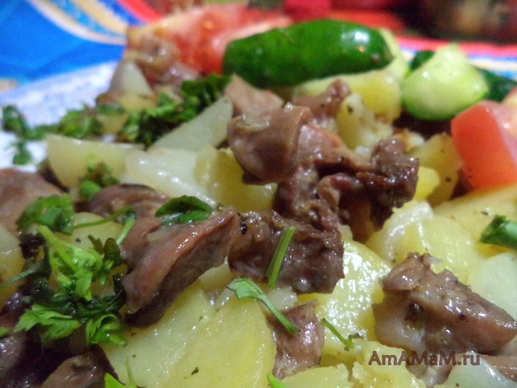 Рецепты из мятой картошки с фото