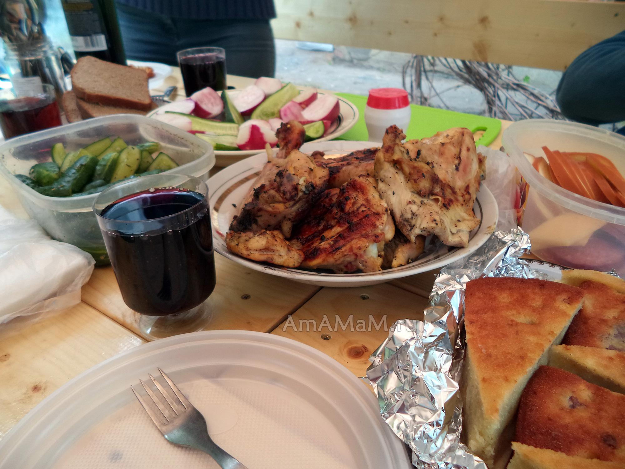 Пикник на природе - рецепты- что взять