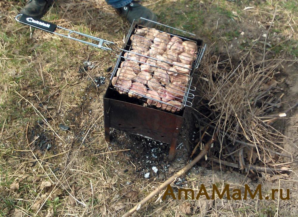 Свиной шашлык - фото и рецепты для пикника
