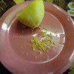 Лимонная цедра на мелкой терке