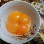 Отделенные от белков желтки