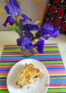 Сушеный инжир - рецепт пирога