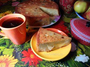 Приготовление яблочного пирога