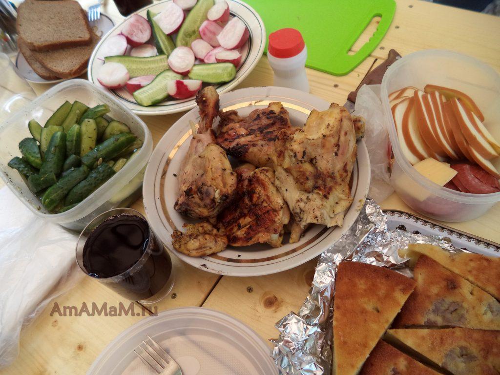 Что взять на дачу для обеда на свежем воздухе - блюда для пикника