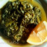 Тушеный шпинат с рисом (Спанакоризо)
