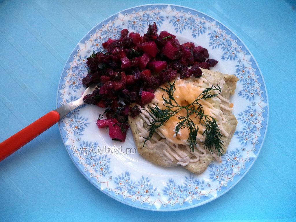 Как делать грудку с ананасами - рецепт приготовления и фото